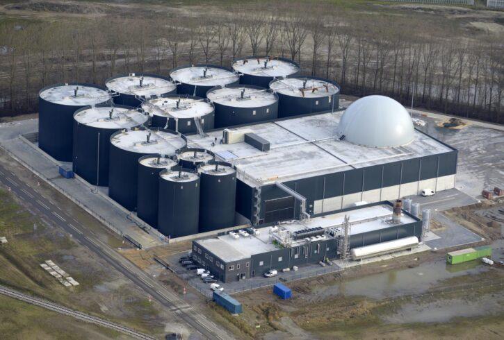 Engineering biovergassingsfabriek